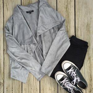Super Soft Olive/Grey Blazer